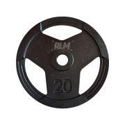 Anilha Sport Luxo Furação Olímpica 51mm - 20 Kg