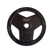 Anilha Sport Luxo Furação Olímpica 51mm - 25 Kg