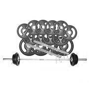 b9926cdaf fitness e musculacao kit de anilhas e barras kit anilhas e barras ...