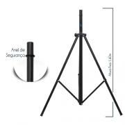 Pedestal para Caixas Acústicas Short Preto - Visão