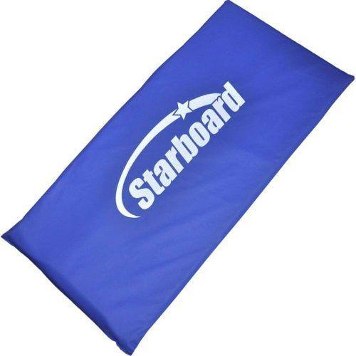 Kit Aparelho Abdominal Simples + Colchonete Starboard Azul