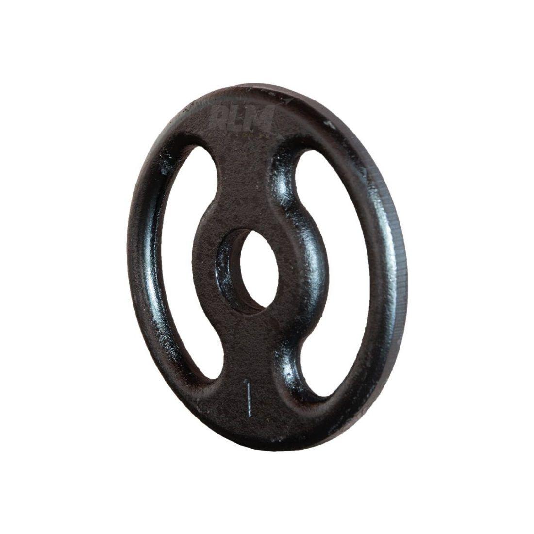 Anilha de Ferro Fundido Pintada - 1 Kg