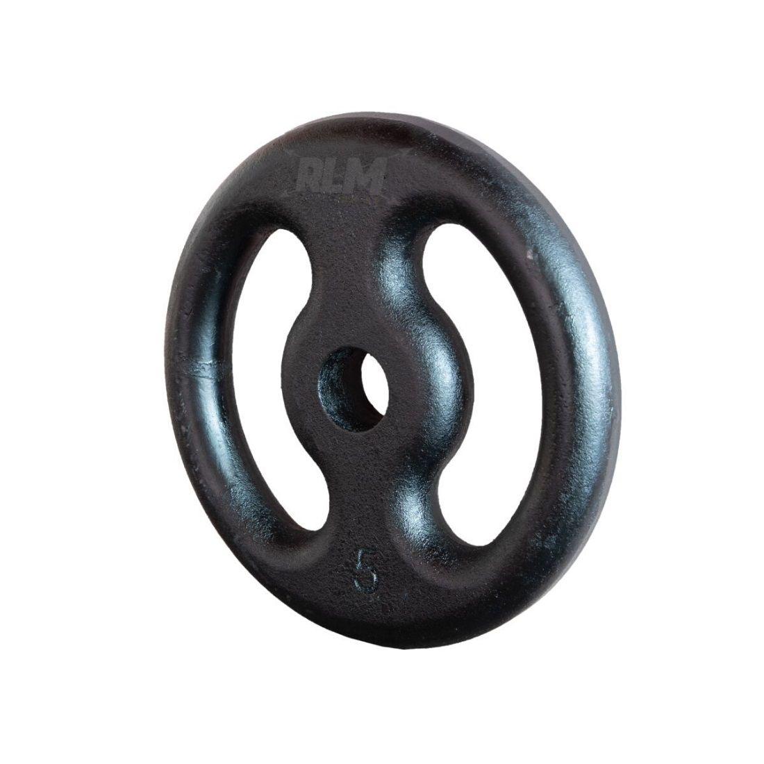 Anilha de Ferro Fundido Pintada - 5 Kg