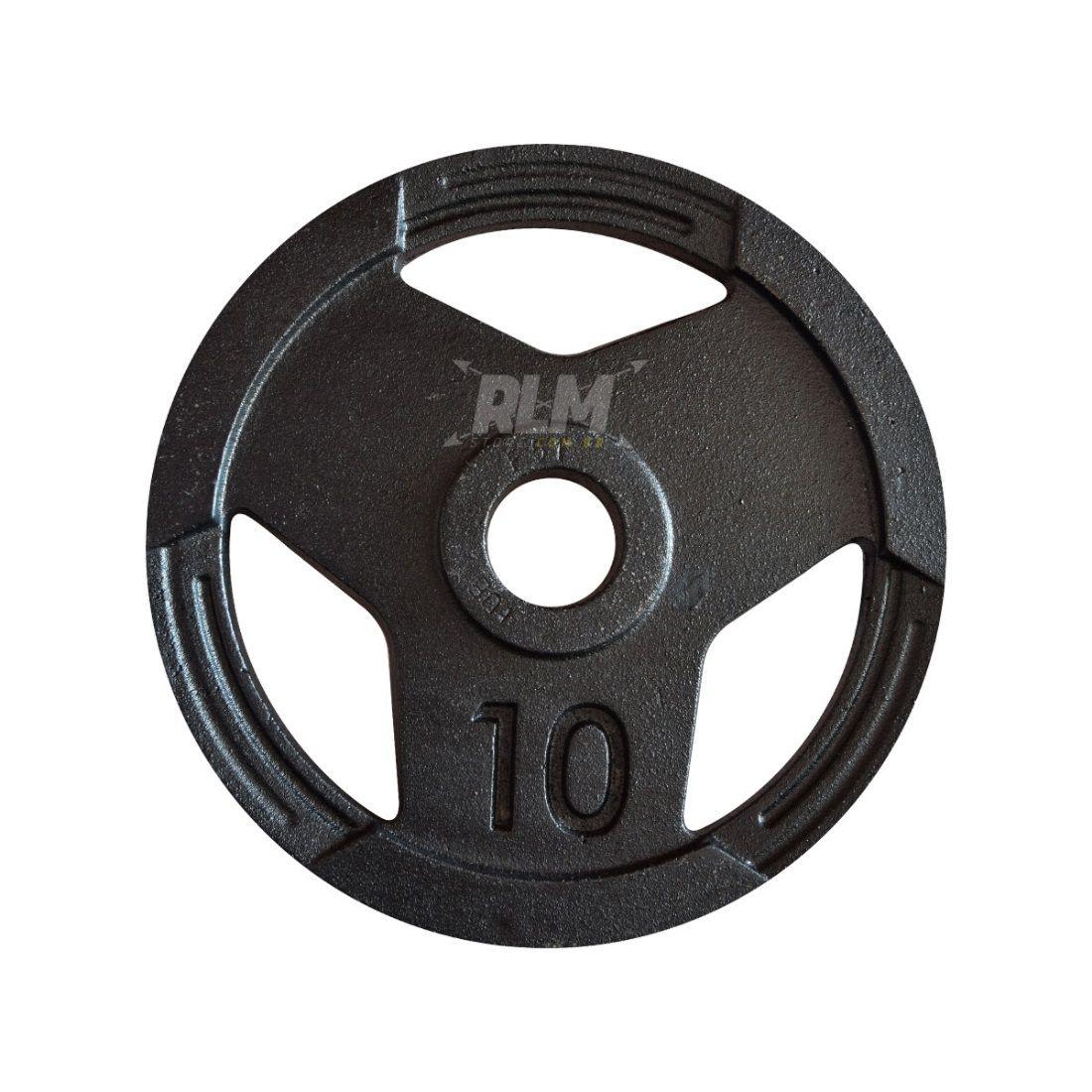 Anilha Sport Luxo Furação Olímpica 51mm - 10 Kg