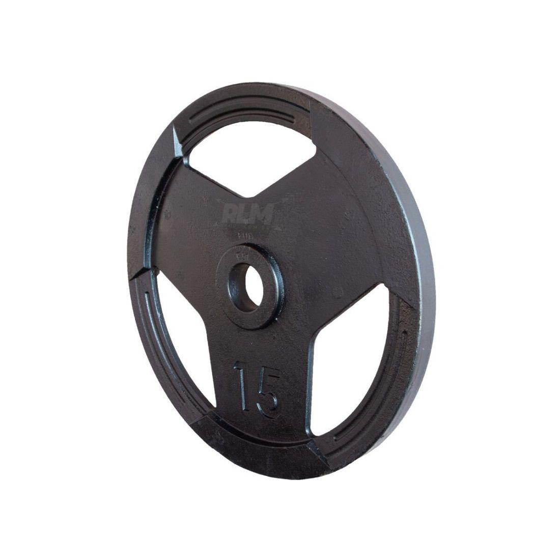 Anilha Sport Luxo Furação Olímpica 51mm - 15 Kg