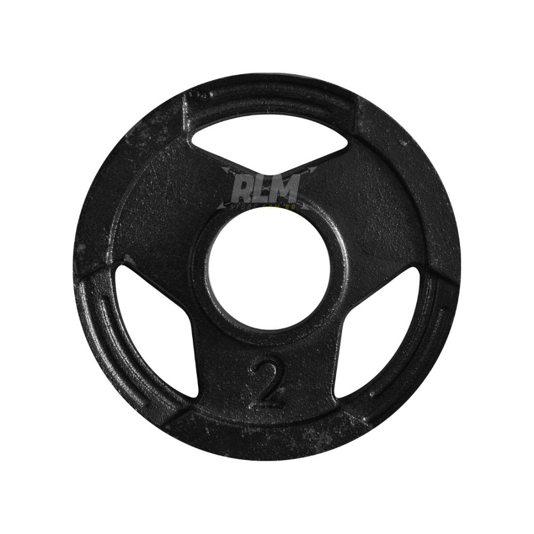Anilha Sport Luxo Furação Olímpica 51mm - 2 Kg
