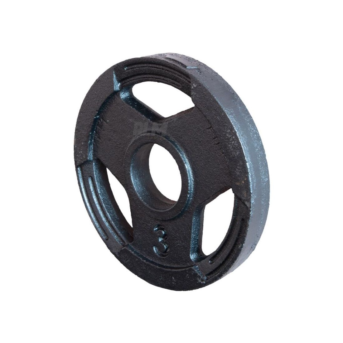 Anilha Sport Luxo Furação Olímpica 51mm - 3 Kg