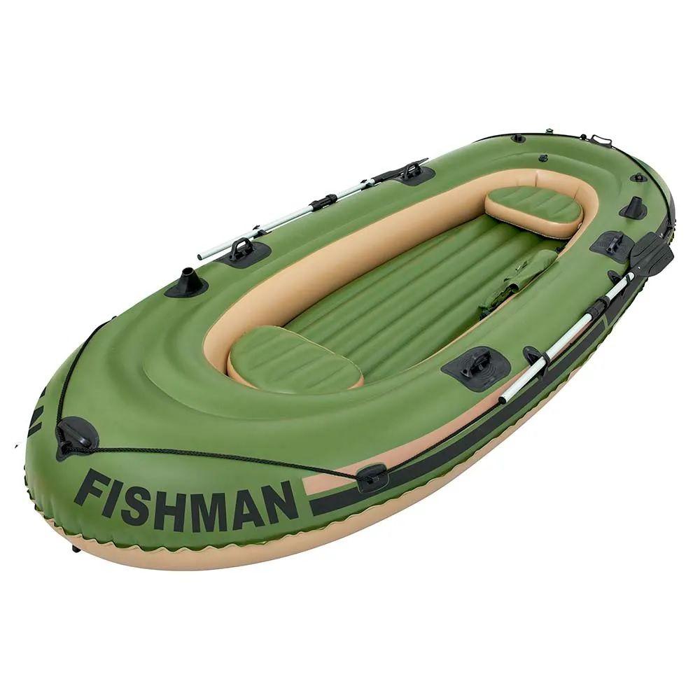 Barco Fishman 350 com Remo e Inflador - Mor