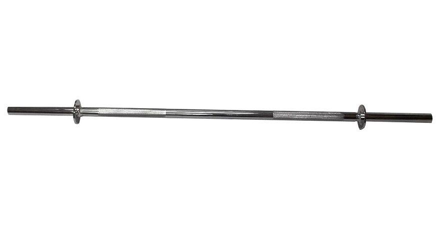 Barra Maciça com Pegada Recartilhada e Presilhas 1,80m - O'neal