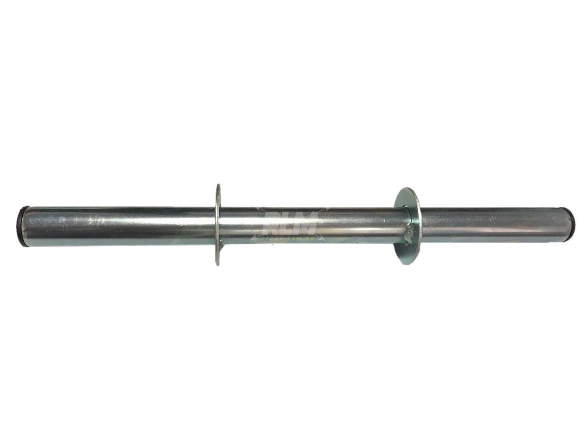 Barra para Halteres Oca com Presilhas - 40cm