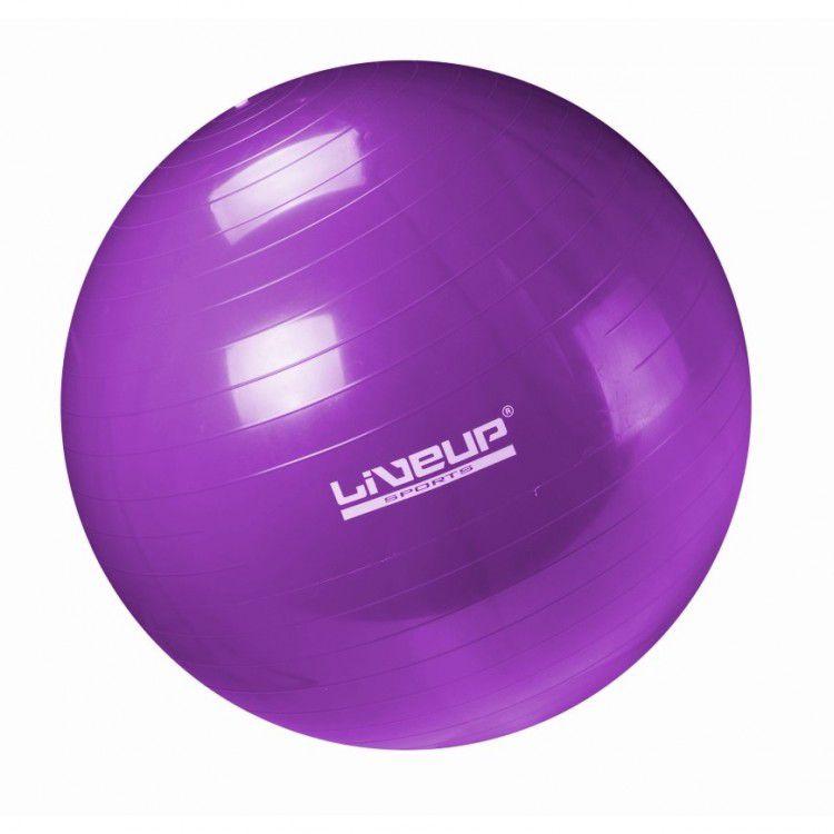 Bola Suíça para Pilates com Bomba de Inflar Live Up - 55cm