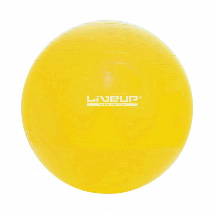Bola Suíça para Pilates com Bomba de Inflar Live Up - 75cm