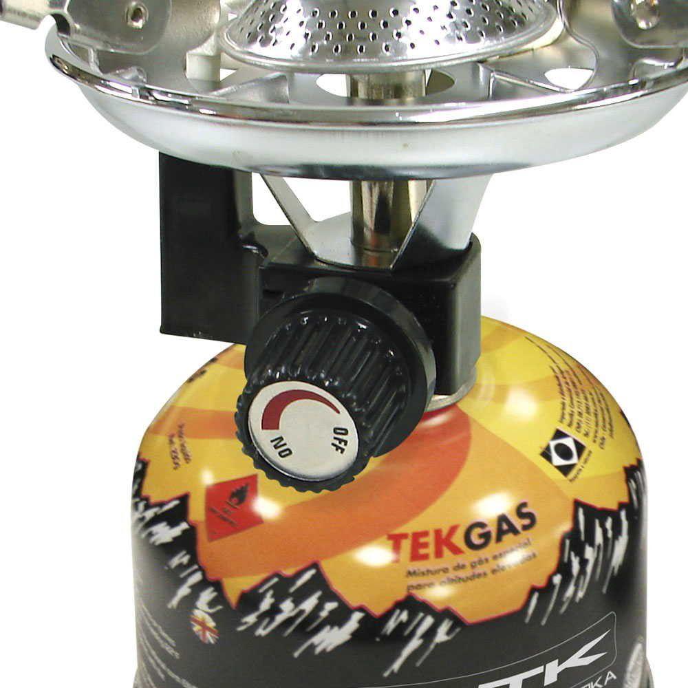 Caixa com 6 Cartuchos de Gás Nautika Tekgás