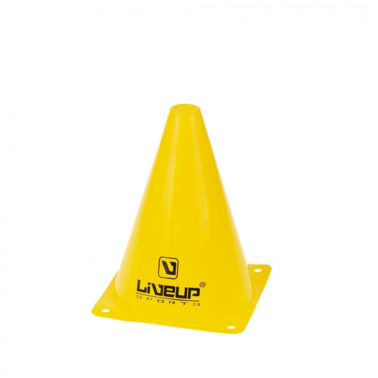 Cone de Agilidade Amarelo LiveUp - 18cm
