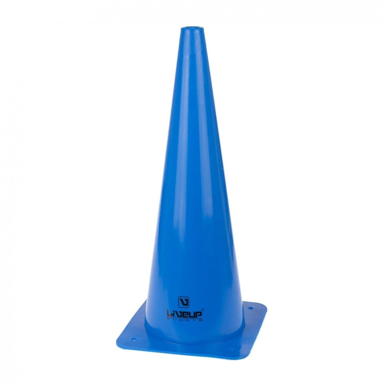 Cone de Agilidade Azul LiveUp - 48cm