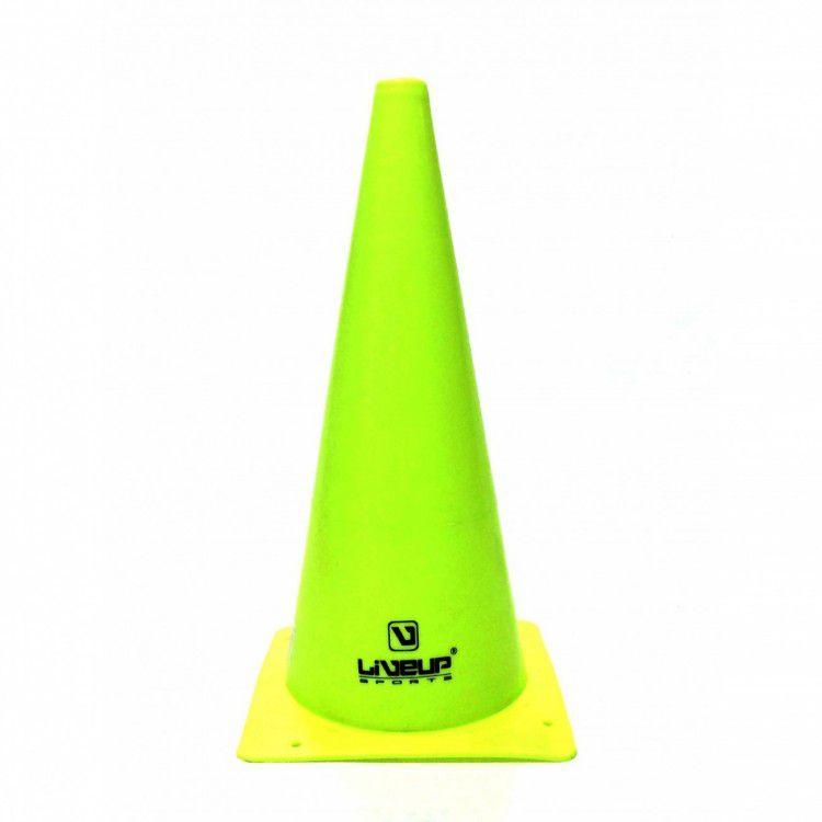 Cone de Agilidade Verde LiveUp - 38cm