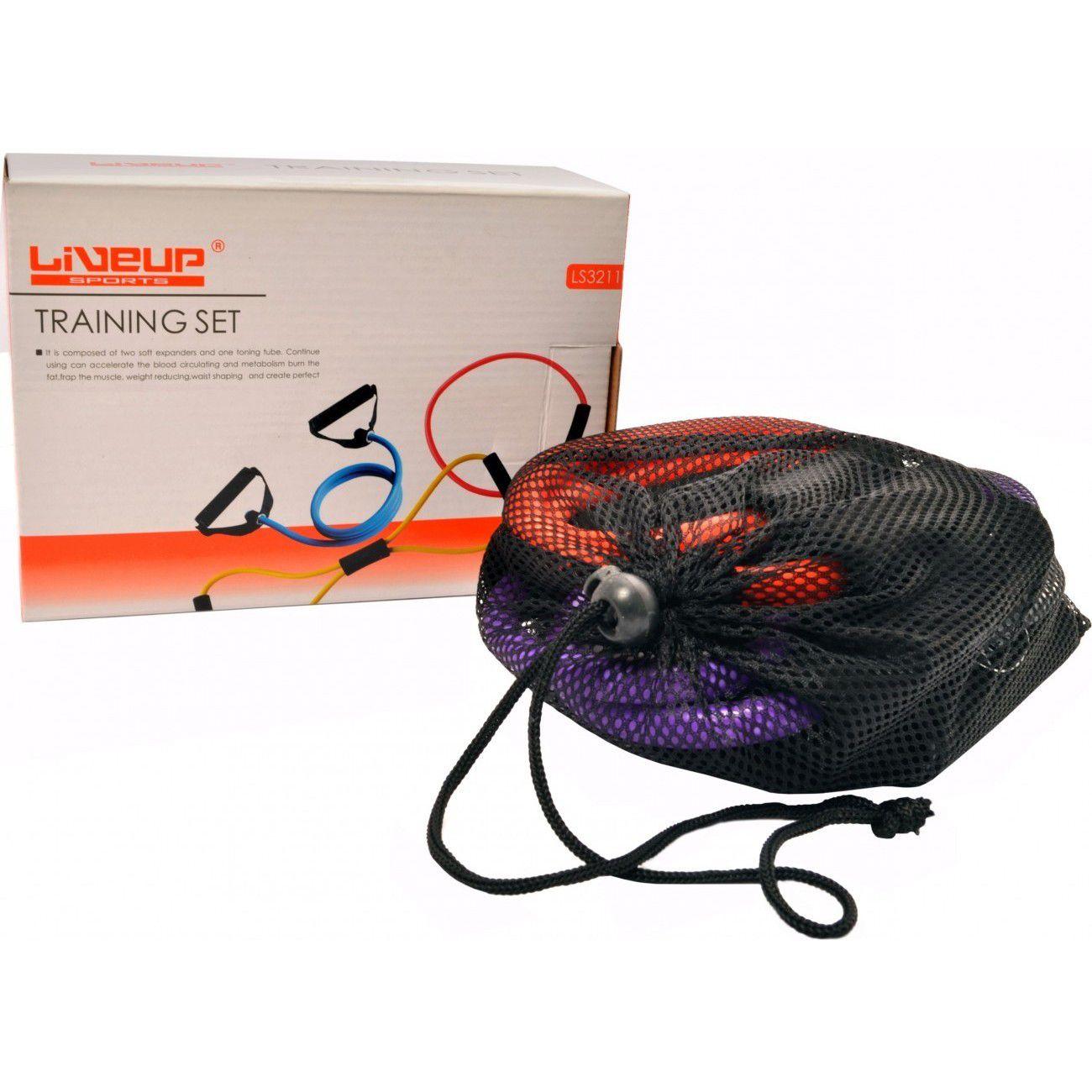Kit 03 Extensores Liveup Sports LS3211