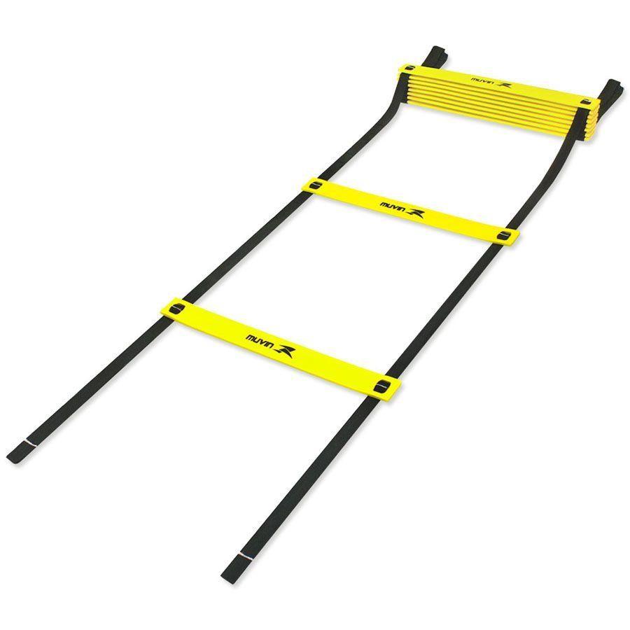 Kit Para Treinamento Funcional - Escada Agilidade + 06 Cones