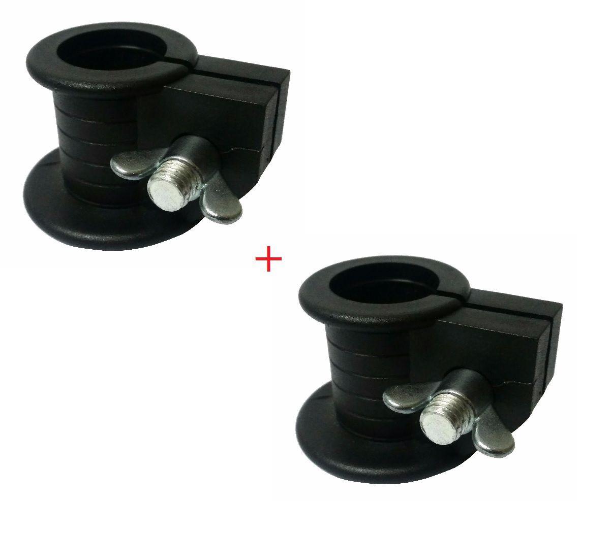 Par De Presilhas Bloqueadora para Barras 1 Polegada (25,4mm)