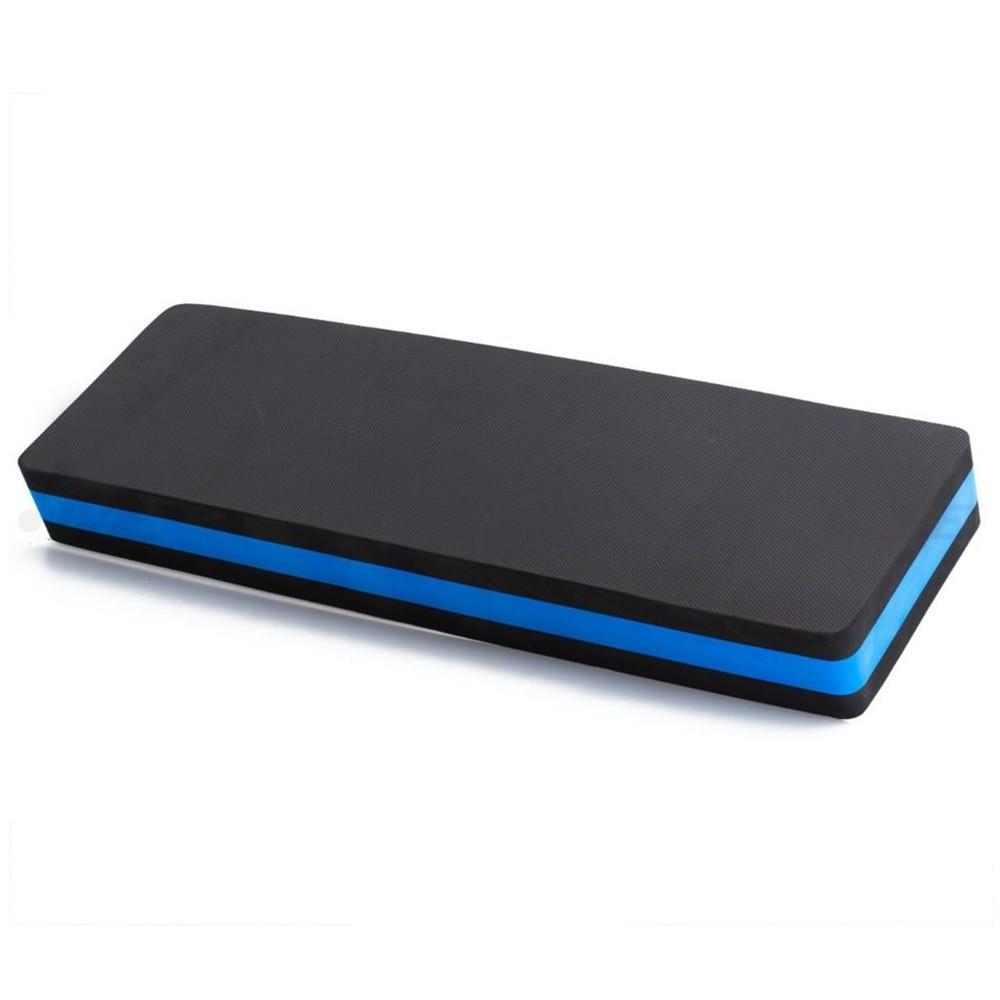 Step EVA 80x30x10cm - Azul e Preto