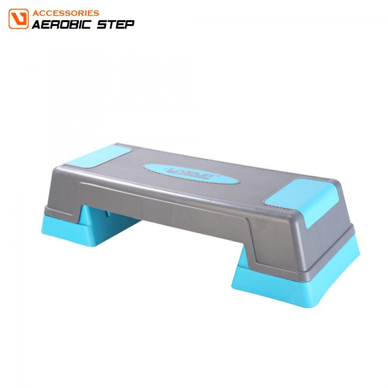Step Exercitador Aeróbico Ajustável 70x27x12,17 ou 22cm - Liveup Sports