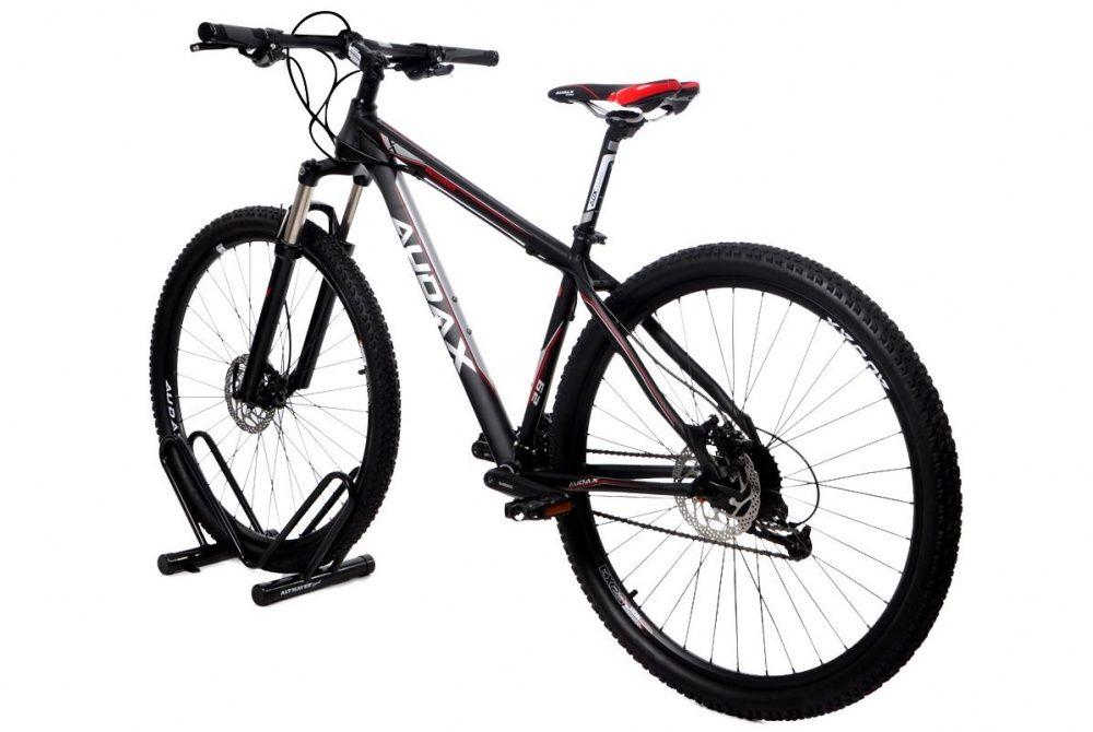 Suporte Bicicletário de Chão Tipo ´V´ Preto AL-114 - Altmayer