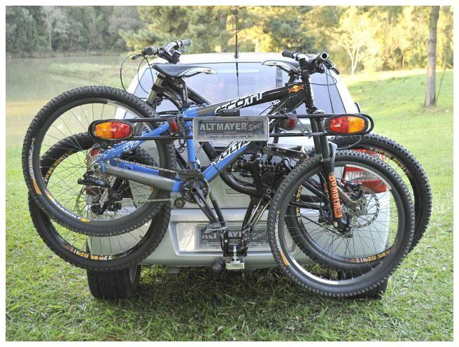 Suporte Veicular TransBike para 03 Bikes Altmayer AL-16