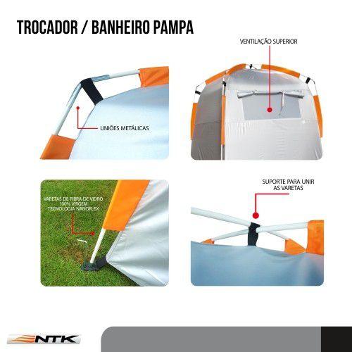 Trocador e Banheiro Nautika Pampa