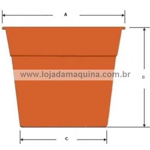 Vaso De Plástico Preto Número 1 Jm13 40 Unidades Neonx