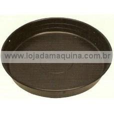 Prato Plástico P/ Vasos Mod. 4 Diam. 23 Cm Pacote 40 Unidades