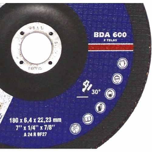 Disco De Desbaste Bda600 178 X 6,4 X 22,2 Mm (7 ) Norton