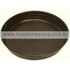 Prato Plástico P/ Vasos Mod. 8 Diam. 33 Cm Pacote 20 Unidades