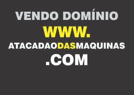 Vendo Domínio Site De Internet Atacadaodasmaquinas.com
