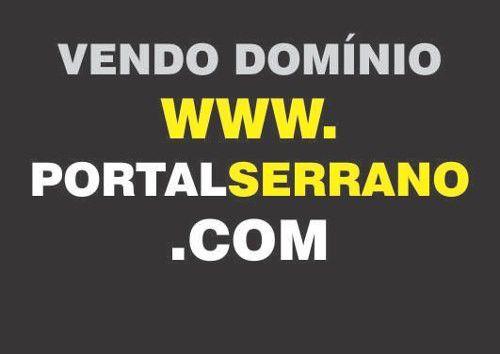 Vendo Domínio Site De Internet Portalserrano.com