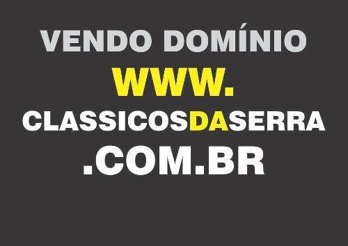Vendo Domínio Site De Internet Classicosdaserra.com.br
