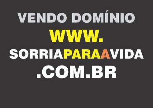 Vendo Domínio Site De Internet Sorriaparaavida.com.br