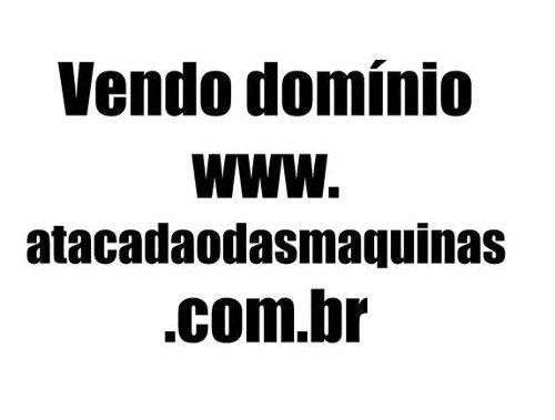 Vendo Domínio Site De Internet Atacadaodasmaquinas.com.br