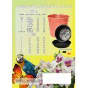 Prato Plástico P/ Vasos Mod. 5 Diam. 25 Cm Pacote 40 Unidades