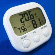 Relógio + Termômetro + Umidade + Despertador + Higrômetro