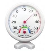 Termômetro Higrômetro Umidade Analógico Branco Não Usa Bateria