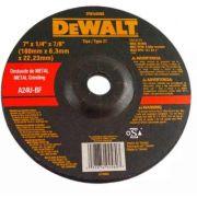 Disco Desbaste P/ Metal 7'' Dewalt Dw44580 Dewalt A24u-bf