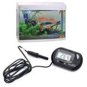 Termômetro Digital Para Aquário Terrário Adega Piscina NeonX