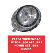 Farol Tremendão Fusca 66/72, Kombi /75 NeonX