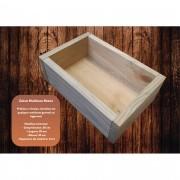 Caixa Organizadora De Madeira 30x20x10 cm NeonX