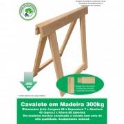 Cavalete Mesa Ou Decoração Madeira Reforçado 69x69 Cm NeonX