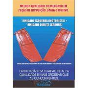 Par Assoalho Completo Fusca 1977 À 1996 Chapa Grossa Le + Ld