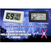 Termômetro Higrômetro Digital Umidade + Temperatura NeonX