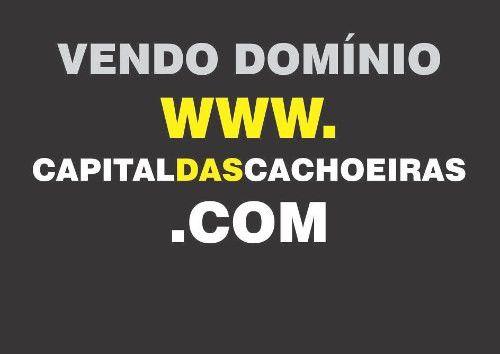 Vendo Domínio Site De Internet Capitaldascachoeiras.com