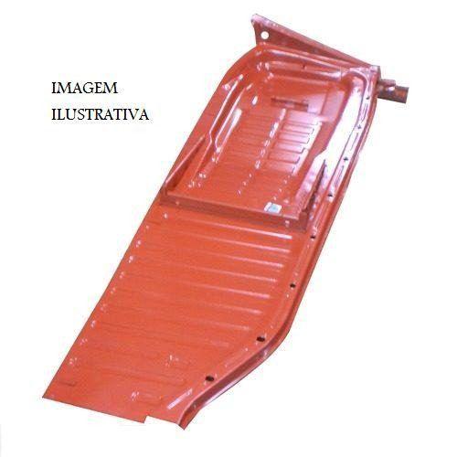 Assoalho Completo Fusca 1959 À 1976 Chapa Grossa Ld Carona Tipo Exportação (S-156) Estriguaru