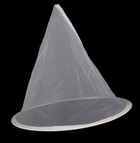 Coador P/ Coar Mel Com Tela Em Fibra 30 Cm Suporte P/ Balde